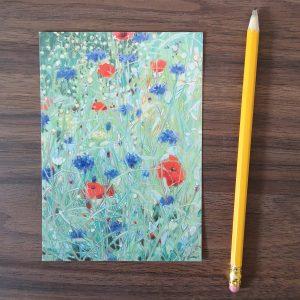 Klaprozen en korenbloemen